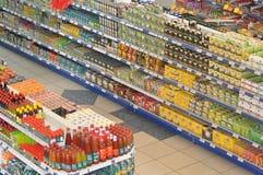 Supermercato dell'alimento Immagine Stock