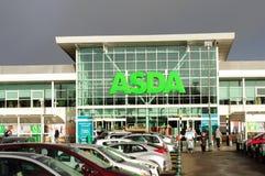 Supermercato di Asda Immagini Stock Libere da Diritti