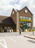 Supermercato di Morrisons Fotografia Stock Libera da Diritti