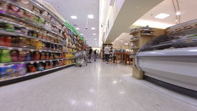 Supermercato di Publix video d archivio