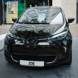 Supermini electric car Renault Zoe Royalty Free Stock Image