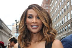 Supermodel Beverly Johnson Stockfotos