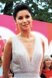 Supermodel Ravshana Kurkova at XXXVI Moscow International Film Festival Stock Images