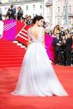 Supermodel Ravshana Kurkova at XXXVI Moscow International Film Festival Royalty Free Stock Photos
