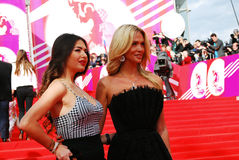 Supermodel Victoria Lopyreva at XXXVI Moscow International Film Festival Stock Image