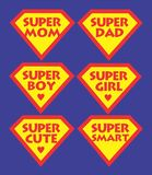 supermom illustrazione vettoriale