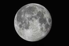 Supermoon imagem de stock royalty free
