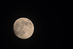 Supermoon from the Adirondacks Royalty Free Stock Photos