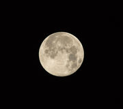 Supermoon on August 10 2014 Stock Image