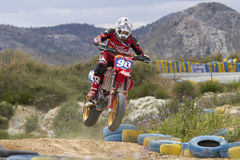 Supermotard Royalty Free Stock Photography