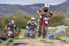 Supermotard Royalty Free Stock Images