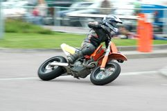 Supermoto 1 Stock Photo