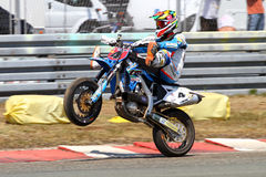 supermoto Royaltyfri Foto