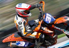 Supermoto championship Royalty Free Stock Photography