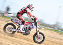 Free Supermoto Panning 1 Stock Photos - 34406423