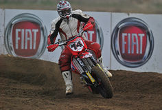 Supermoto Speed Royalty Free Stock Images