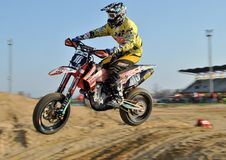 Supermoto Superjump 5 Royaltyfria Bilder