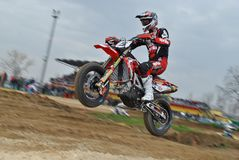 Supermoto Superjump 4 Obraz Stock