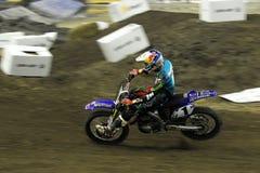 Supermotocross 2009 del facciotti de Colton foto de archivo libre de regalías