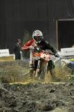 Supermotocross de nemeth de Kornel Images stock