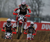 Supermoto Race Royalty Free Stock Images