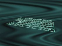 Supernal keyboard Royalty Free Stock Photos