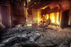 Supernatural atmosphere on objects Stock Photo