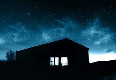 Supernatural Farmhouse Royalty Free Stock Photography