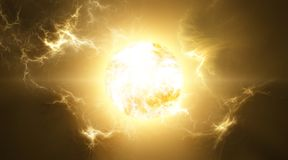 Supernova Royalty Free Stock Photos