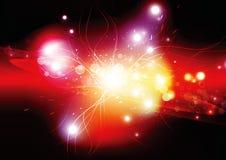 Supernova. Illustration of supernova in the universe Stock Images