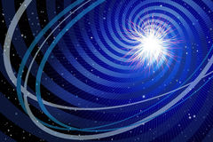 Supernova. Graphic illustration of a Supernova Stock Photo