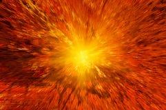 Supernova abstracta del fondo Imagen de archivo libre de regalías