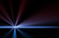 Supernova-abstrakte Hintergrund-Tapete stock abbildung