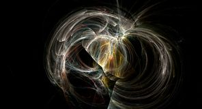 Supernova bright abstract backgound nebula explosion royalty free stock photography