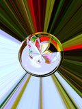 Supernova inspiration 1 of 5. The sphere is part from series Supernova (1 of  5 Stock Photo