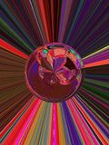 Supernova inspiration 4 of 5. The sphere is part from series Supernova (4 of  5 Royalty Free Stock Images