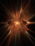 Supernova mágica de la explosión 3D Foto de archivo libre de regalías