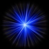 Supernova star burst. Created in image editor from scratch Royalty Free Stock Images