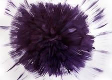 Supernovaexplosie De energie van verwezenlijking vector illustratie