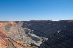 Superpit in Kalgoorlie Royalty Free Stock Photos