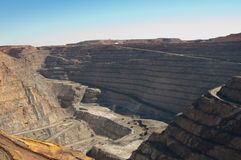 Superpit in Kalgoorlie Lizenzfreie Stockfotos