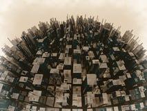 Superpoblación Imágenes de archivo libres de regalías