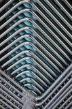 Superposición geométrica de tubos Fotos de archivo