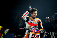 SUPERPRESTIGIO DIRT TRACK 2015 - MARC MARQUEZ Royalty Free Stock Photography