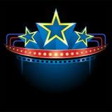 Superproduction avec des étoiles Photographie stock