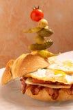 Supersized sandwich Stock Photography
