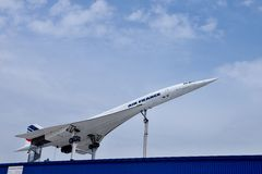 Supersonic aircraft Concorde Royalty Free Stock Photo