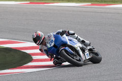 SUPERSPORT FIM World Championship - Results Free Practice 3rd Se Royalty Free Stock Photography