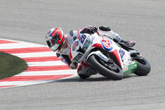 SUPERSPORT FIM World Championship - Results Free Practice 3rd Se Royalty Free Stock Photos