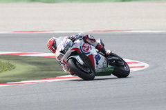 SUPERSPORT FIM World Championship - Results Free Practice 3rd Se Royalty Free Stock Photo